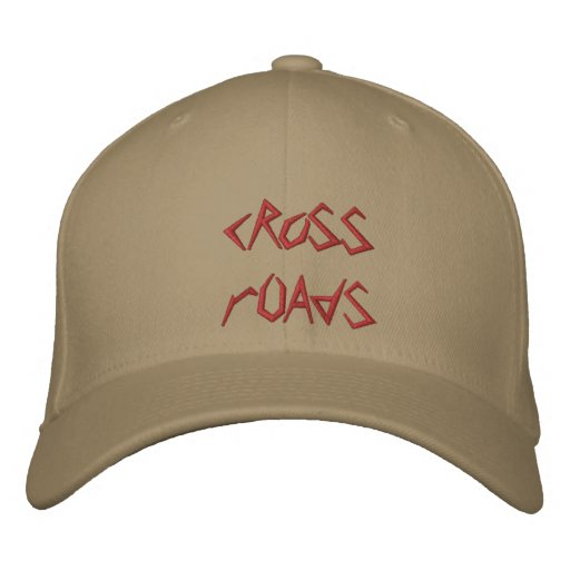 cRoSS rOAdS Embroidered Hat