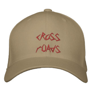 cRoSS rOAdS Embroidered Hats