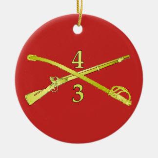 Cross Sagre/Rifle Ornament