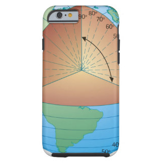 cross section illustration of showing tough iPhone 6 case