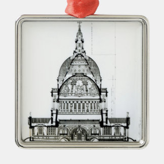 Cross section of St. Paul's Cathedral Christmas Ornament