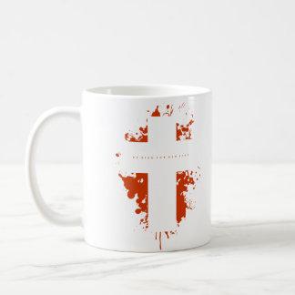 Cross splash coffee mug