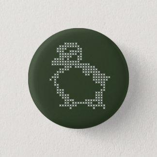 cross-stitch button