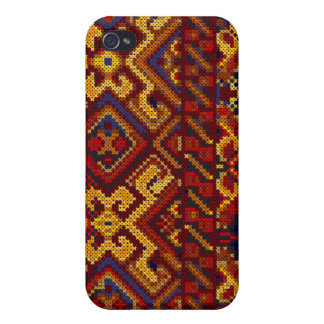 Cross Stitch Embroidery Pattern iPhone 4 4S Speck iPhone 4 Covers