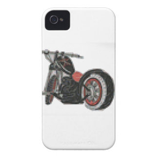 cross stitch motorcycle embroidery iPhone 4 cover