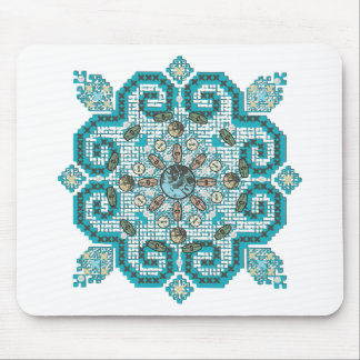cross stitch mouse mat