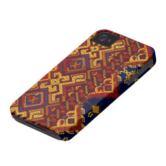 Cross Stitch Pattern iPhone 4/4S BARELY THERE Case