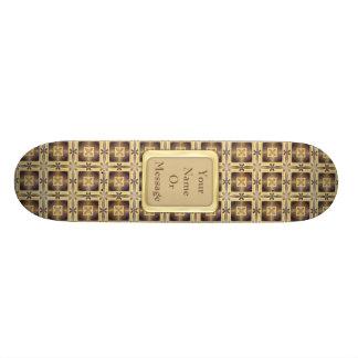 Cross Stitch Skate Board