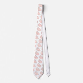 Cross stitch Spotty rabbit Tie