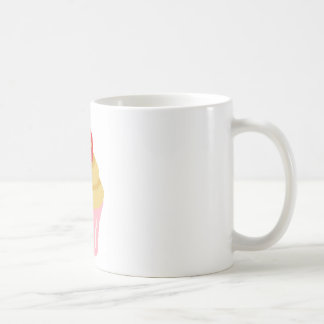 Cross stitch strawberry cupcake coffee mug