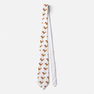 cross stitch style chicken tie