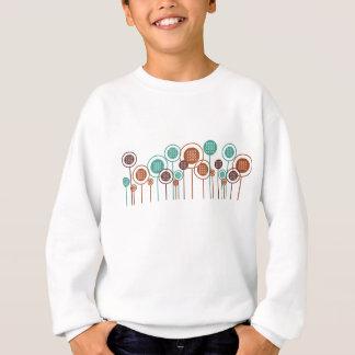 Cross-stitching Daisies Sweatshirt