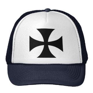 Cross Templar Cap