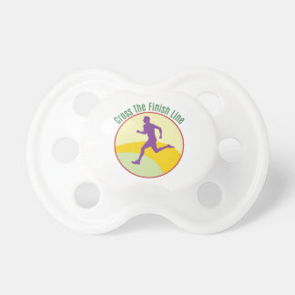 Cross The Finish Line BooginHead Pacifier
