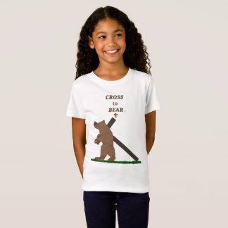 Cross to Bear (girls) T-Shirt