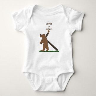 Cross to Bear (infant) Baby Bodysuit