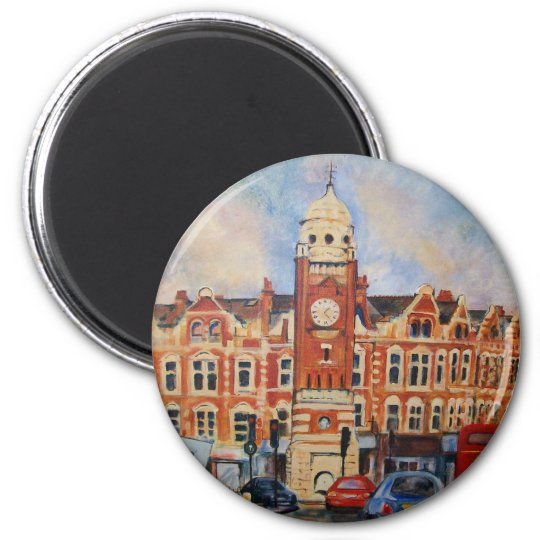 Cross Town Traffic 6 Cm Round Magnet