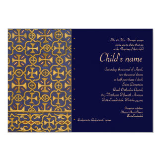 Cross Vestment Personalized Invitation