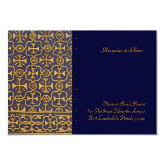 Cross Vestment Reception Card