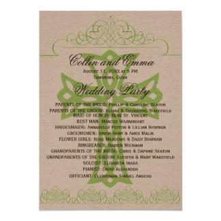 Cross Wedding Programs