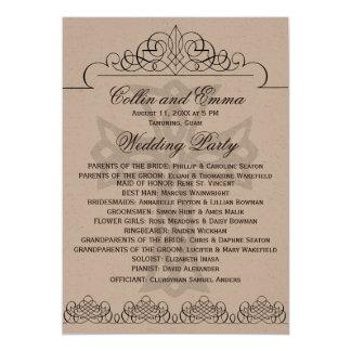 Cross Wedding Programs 13 Cm X 18 Cm Invitation Card