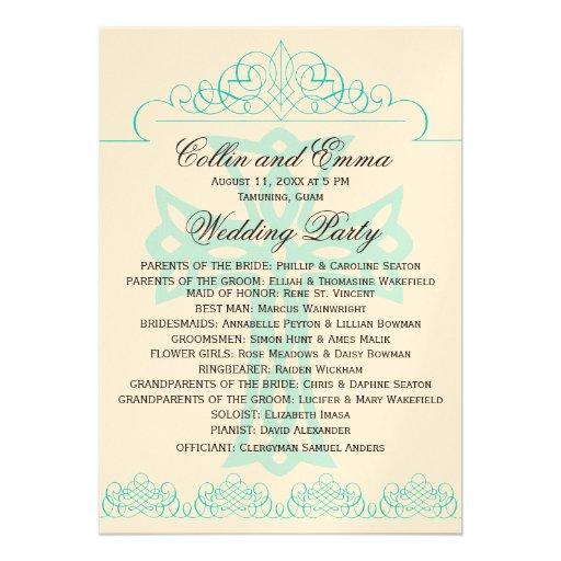 cross wedding programs 13 cm x 18 cm invitation card zazzle