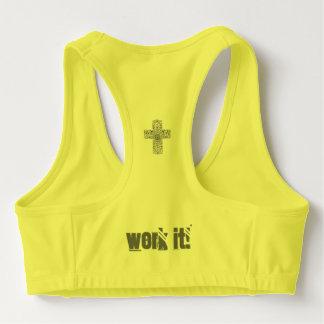 Cross Work it! Work Out Bra