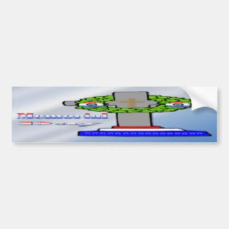 Cross & Wreath -  Memorial Day  Bumper Sticker