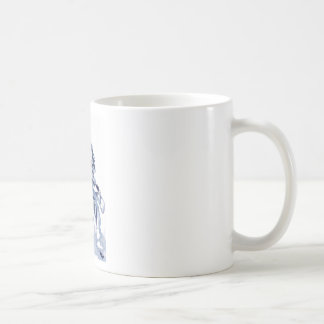 cross you're legs and wait. with Jun Basic White Mug