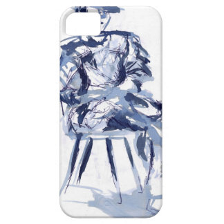 cross you're legs and wait with Jun iPhone 5 Cover