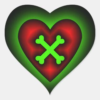 Cross your Heart Sticker