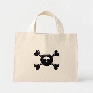 Crossbones Atmospheric Sciences Tote Bags