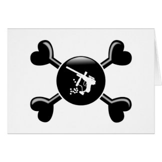 Crossbones Paintball Cards