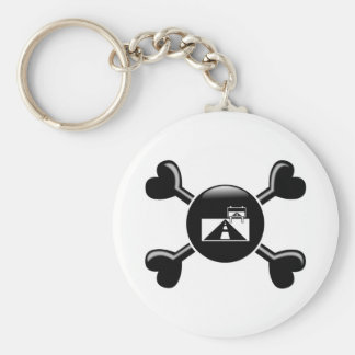 Crossbones Road Trips Keychains