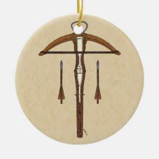 Crossbow Christmas Ornament