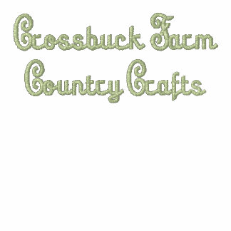 Crossbuck Farm Country Crafts Embroidered Hoodie