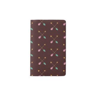 Crossed Arrows Notebook