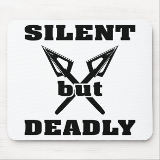 Crossed Arrows Silent But Deadly 5 Mousepads