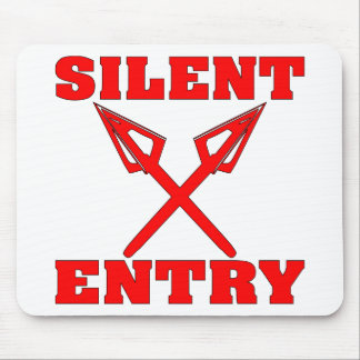 Crossed Arrows Silent Entry Mousepads