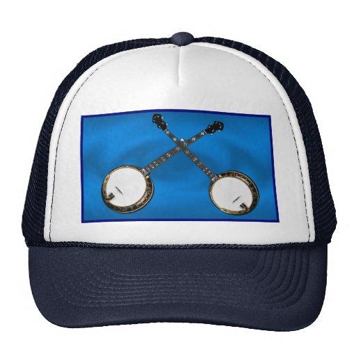 CROSSED BANJOS -HAT