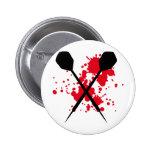 crossed darts icon pin