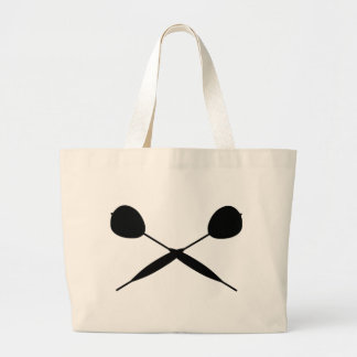 Crossed Darts Large Tote Bag
