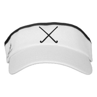 Crossed Field Hockey Sticks Graphic Visor