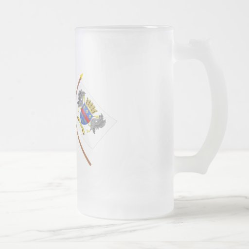 Crossed flags of France and Saint-Barthelemy Coffee Mug