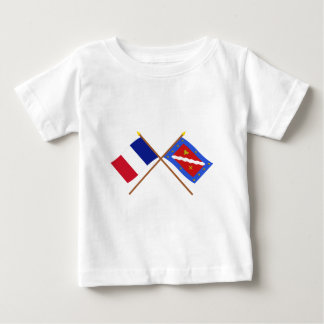 Crossed flags of France and Val-d'Oise Shirt