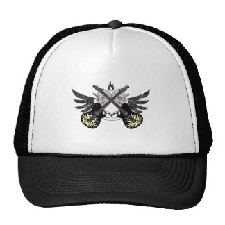 Crossed Guitars and Skulls Trucker Hat