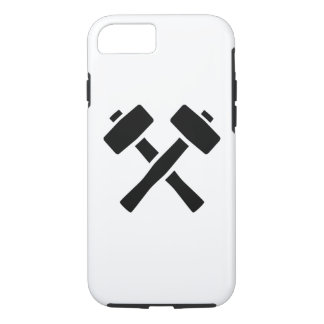 Crossed hammer iPhone 7 case