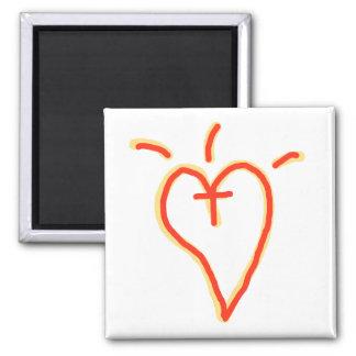 Crossed Heart Magnet
