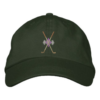 Crossed Irons Embroidered Hat
