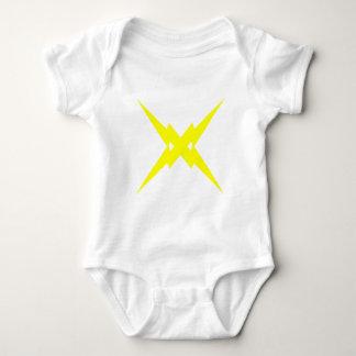 Crossed Lightning Baby Bodysuit